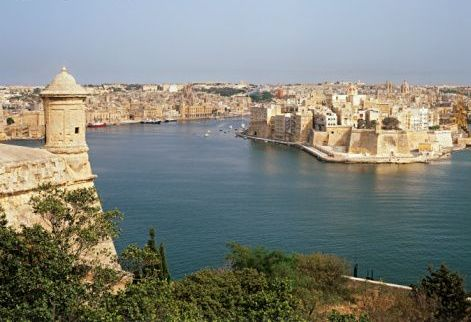 Мальта, Валетта, море